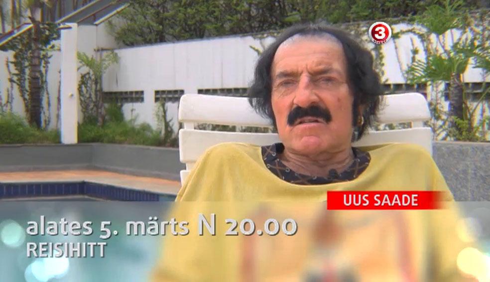 """TV3 tänane """"Reisihitt"""" esitleb: Jörbergi kuum seiklus Brasiilias!"""