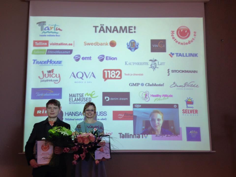 PARIM TEENINDAJA! Eesti parim teenindaja 2015 on Annika Kalbus