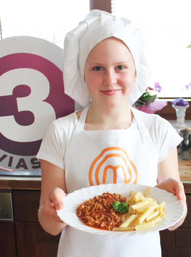 TV3: noorkokk Marietta näitas, kuidas valmib Pasta Bolognese