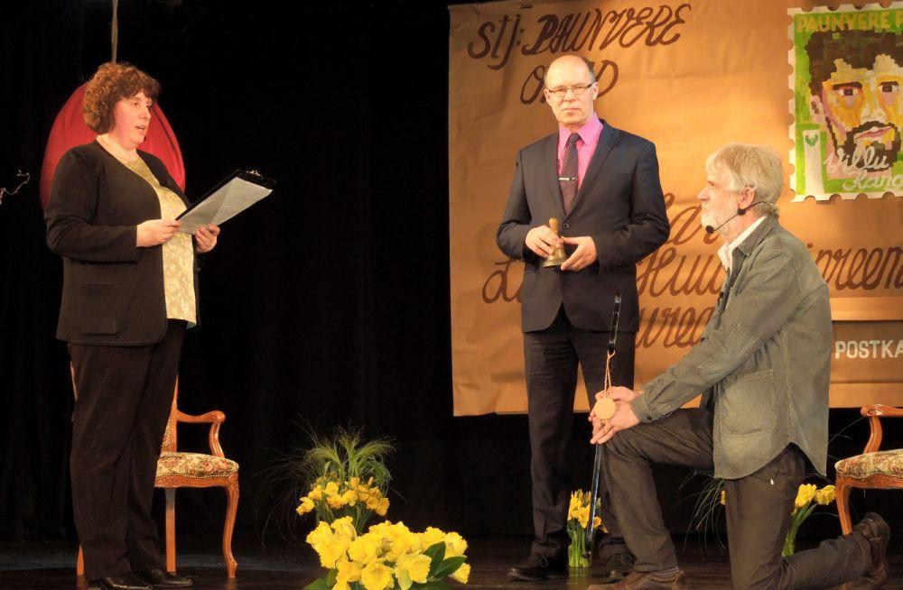 Villu Kangur kuulutati Palamusel Oskar Lutsu huumoripreemia laureaadiks
