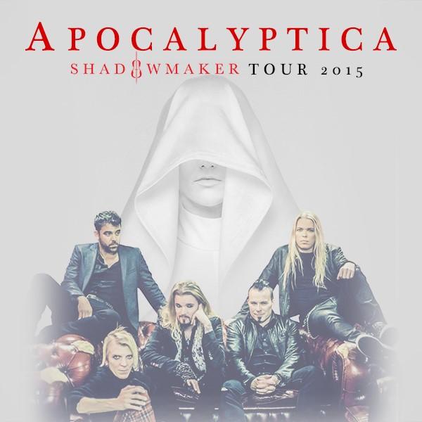 "SÜMFOONILISE METALLI AUSTAJATELE! Apocalyptica esitleb Eestis uut albumit ""Shadowmaker"""