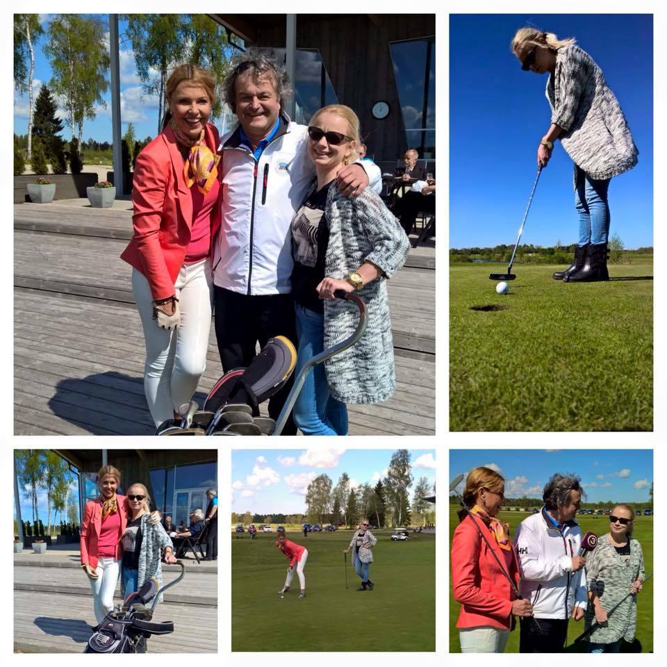 "Golfirubriik TV3 ""Seitsmestes"" viib golfiduellile Anu Saagimi ja Kerli Dello"