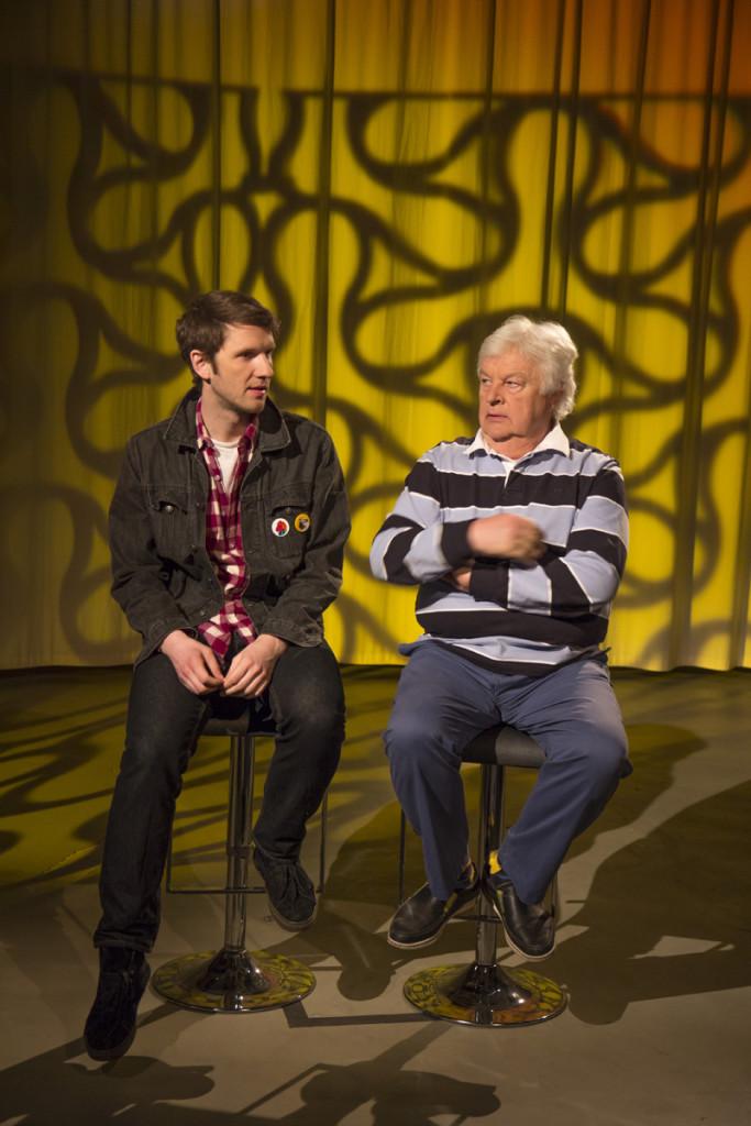 Robert koos isa Ivo Linnaga Foto: Kaido Sinimaa
