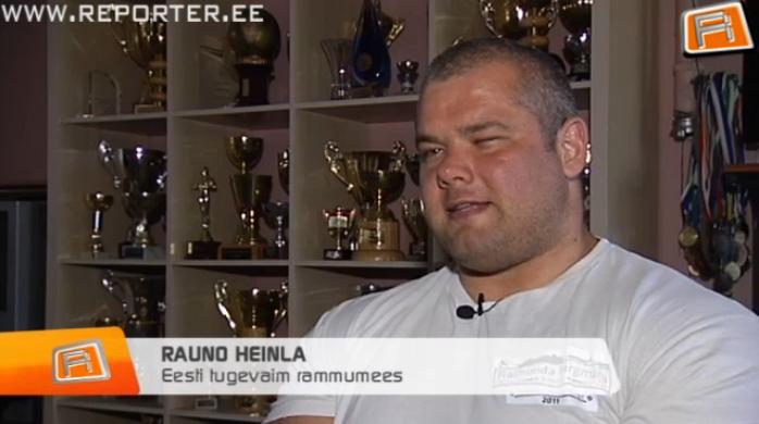 VAATA REPORTERIT! Saage tuttavaks: Eesti kõige tugevam mees on Rauno Heinla