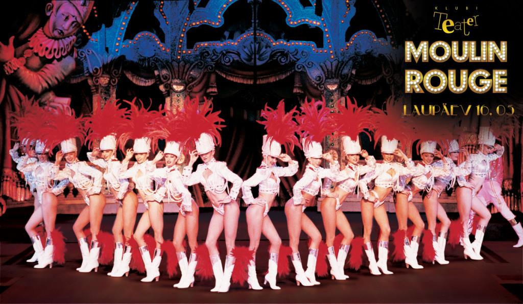 """VÕRGUTAVAD TANTSUD! Klubis Teater avab ööks uksed Eesti """"Moulin Rouge"""""""