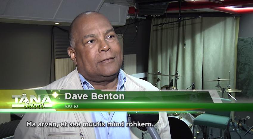 VIDEO! TÄNA+ SUVEL! Dave Benton: eestlaste tunnustuse peab ise võitma