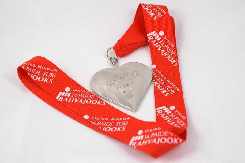 GOODNEWS PEATOIMETAJALE MEELDIB! Paide-Türi Rahvajooksul saab südamekujulise medali