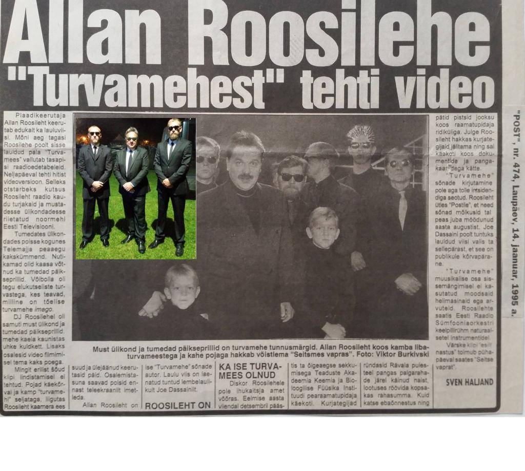 """Mida arvab Allan Roosileht """"Su nägu kõlab tuttavalt"""" saate eel Mikku ees ootavast """"Turvamehest""""?"""