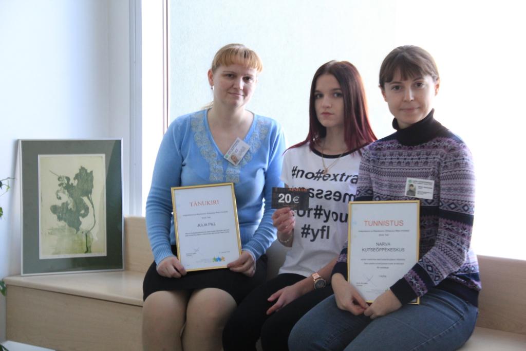 PARIMATE AUTASU! Narva Kutseõppekeskuse õpetajad võtsid vastu parimate autasu