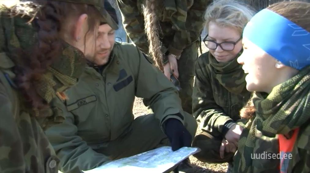 VIDEO! EESTI NEIUD AU SEES! noorkotkaste patrullvõistlusel tõusid esile just naiskonnad