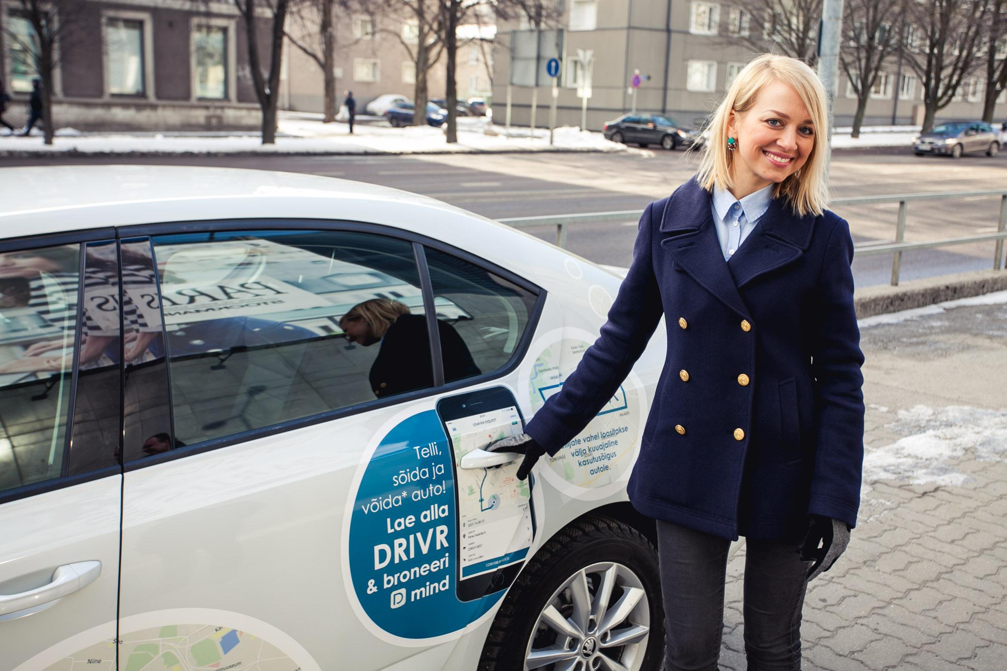 VAATA VIDEOT! Drivr Eesti eeliseks on kellaajalised tellimused kaks päeva ette