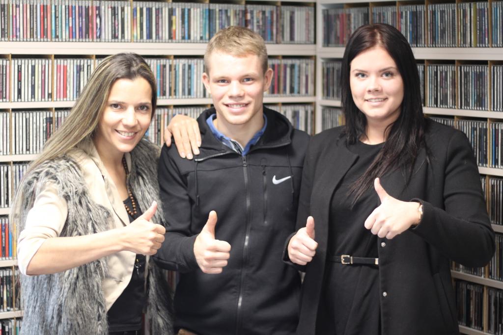 Monika Kuzmina, Markko Moisar ja Joanna Müür
