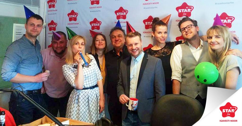 STAR FM! Star FM tähistab uhket 16ndat sünnipäeva