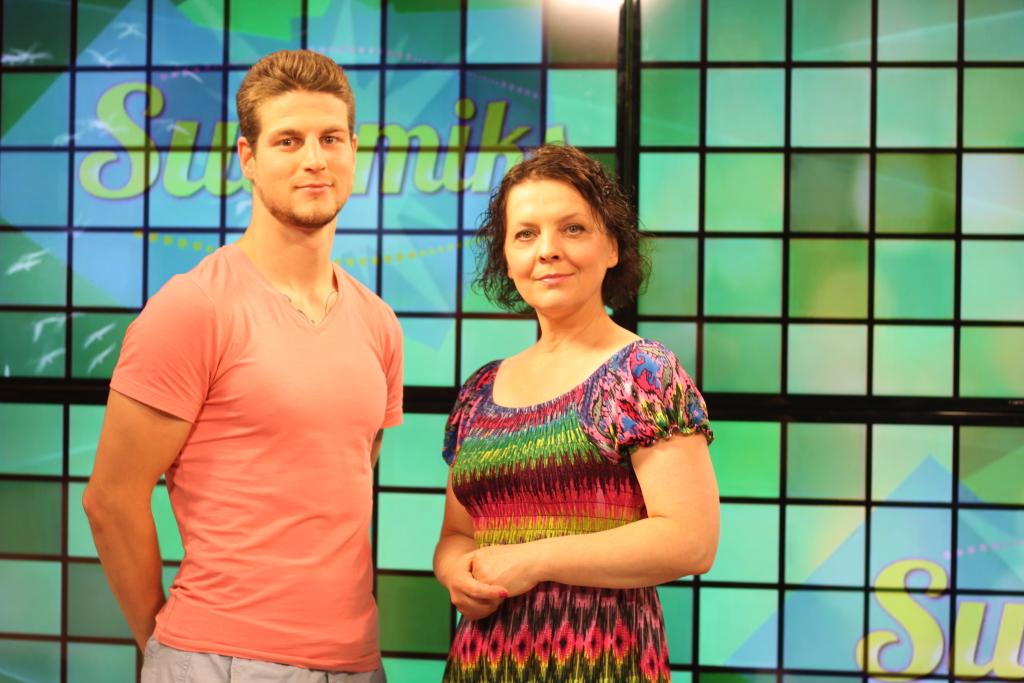 Edvin-Erik Kibus ja Mari Torga