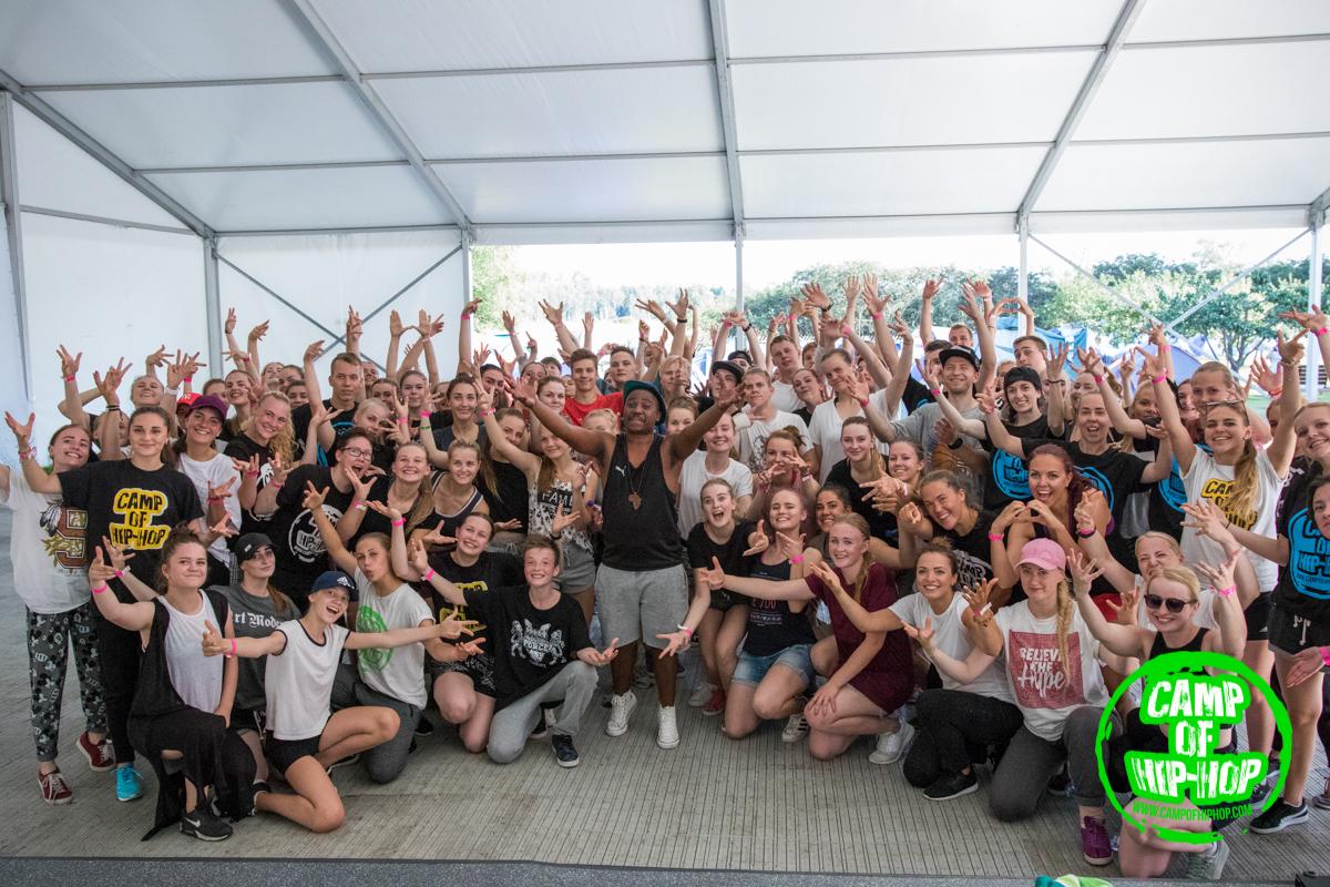 CAMP OF HIP-HOP FOTOD! Rahvusvahelise tantsulaagri kütavad kuumaks külalistantsijad