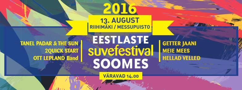 SUVEFESTIVAL! Laupäeval toimub eestlaste suveestival Soomes