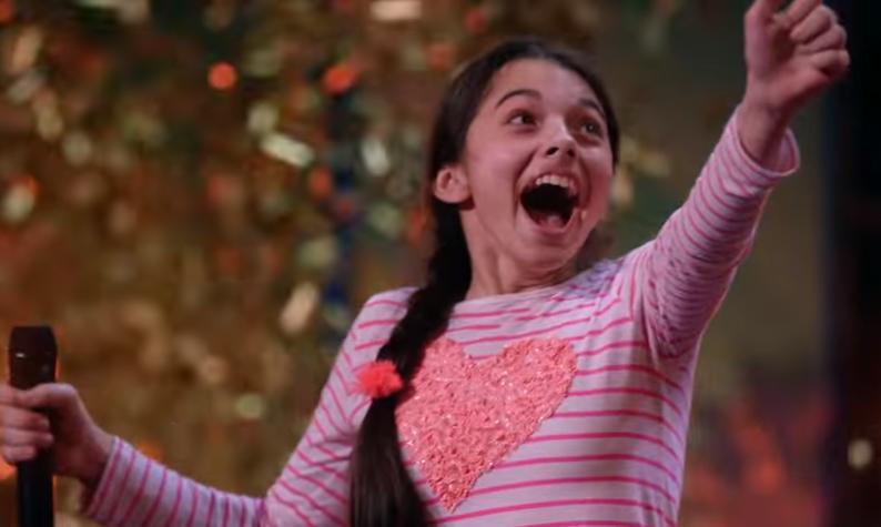 LIIGUTAV! 13-aastane Laura Bretan vapustas oma lauluga talendisaate publikut