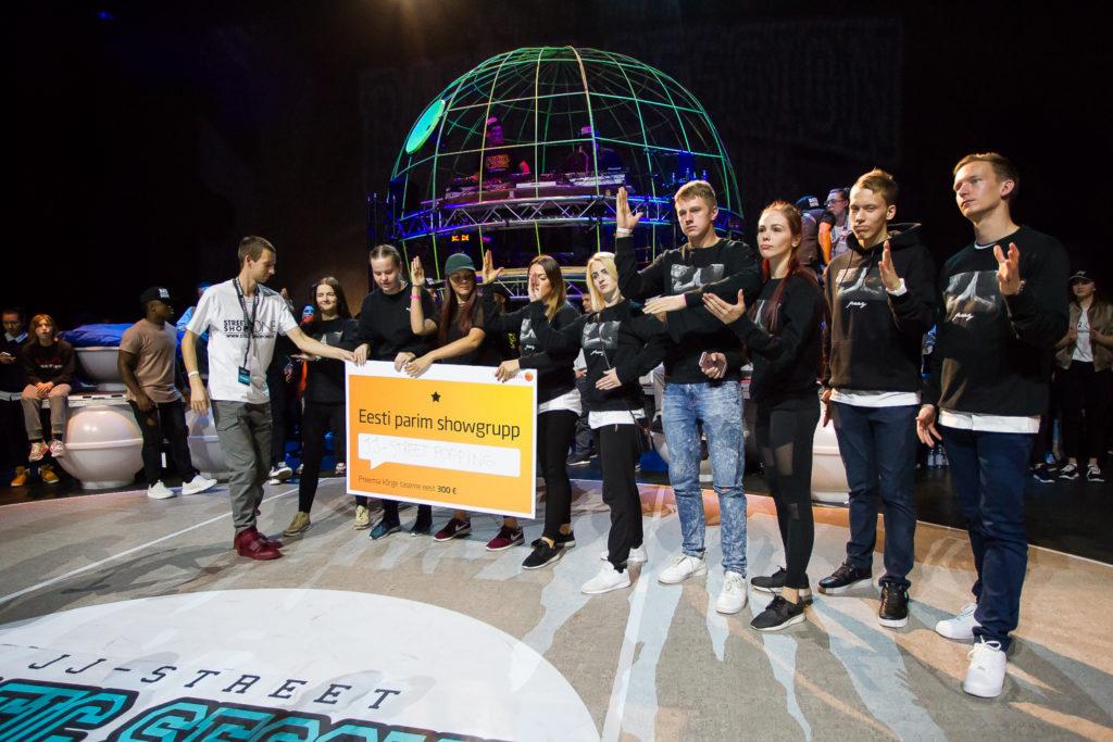 Eesti parim showcase JJ-Street Popping võit