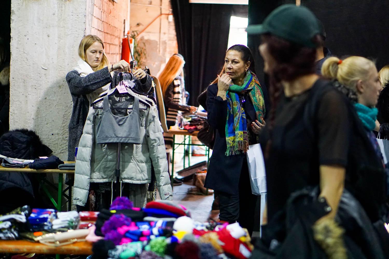 Vaata galeriid! Urban Kirbuturg kutsus üles vähem riideid tarbima