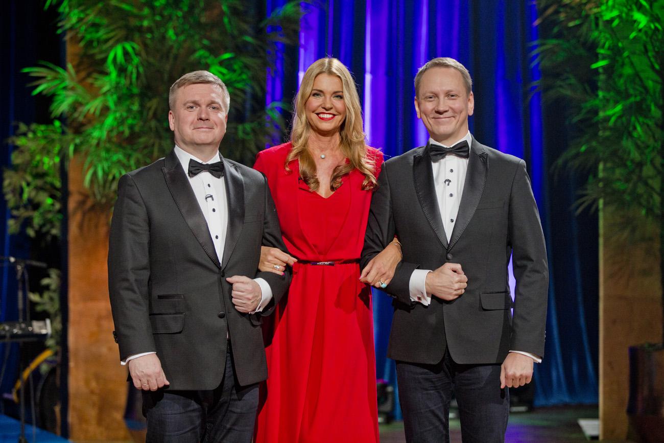 """""""Nädalalõpp Kanal 2ga""""! Täna on Teedul ja Kristjanil külas seltskonnadaam Anu Saagim"""