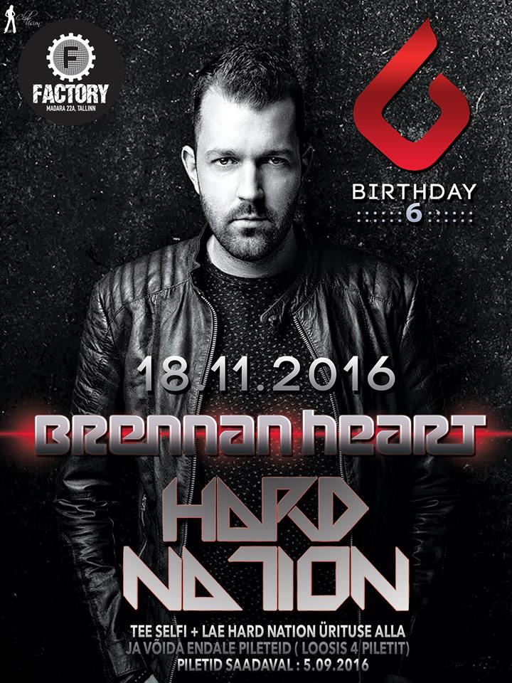 Pidudesari Hard Nation tähistab täna oma kuuendat sünnipäeva