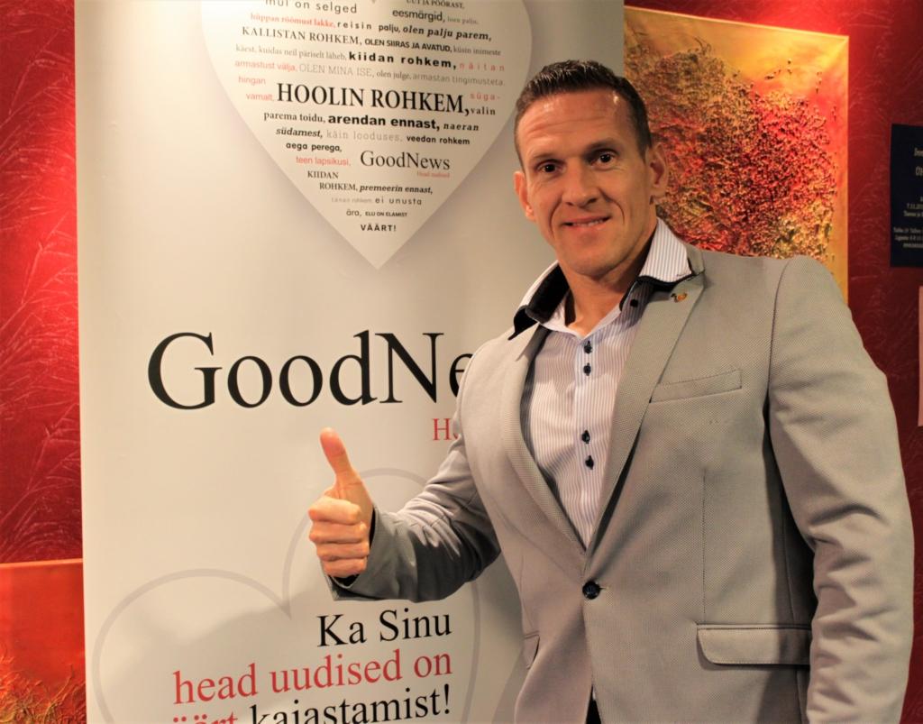 GoodNews eksklusiiv! Tänavu edukalt esinenud kulturist Ott Kiivikas hindab Eesti puhul täpset ja lihtsat asjaajamist