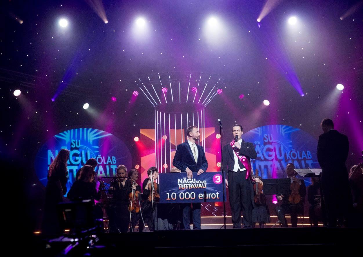 Kõrgeim aasta vaatajatearv! Näosaate finaali vaatas 29 protsenti Eesti elanikkonnast