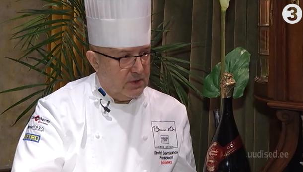 Palju õnne! Gastronoomiakultuuri tipptegijal Dimitri Demjanovil täitub 70. eluaasta