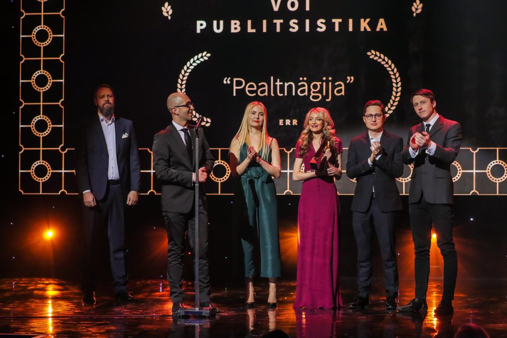 GALERII! Selgusid ajaloo esimesed Eesti filmi- ja teleauhindade võitjad