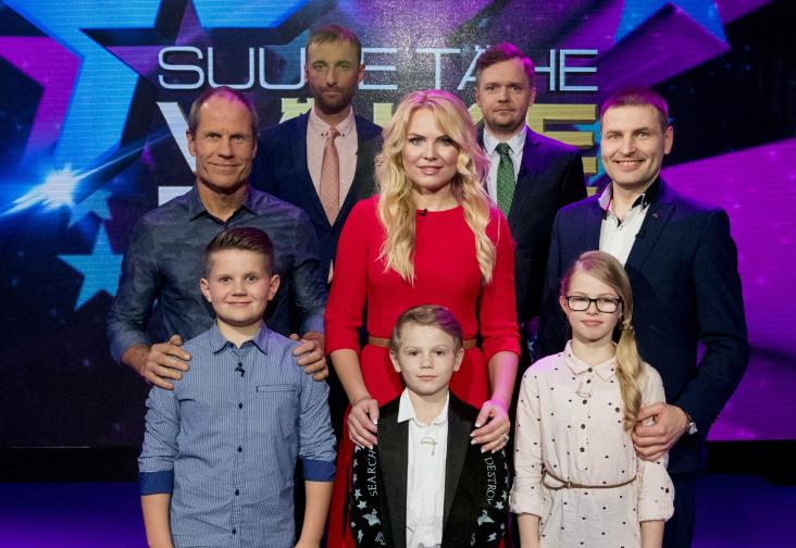 """""""Suure tähe väike täht"""" saate võitjad Toomas Tõniste ja poeg Marten annetasid võidusumma sihtasutusele Haraka Kodu"""