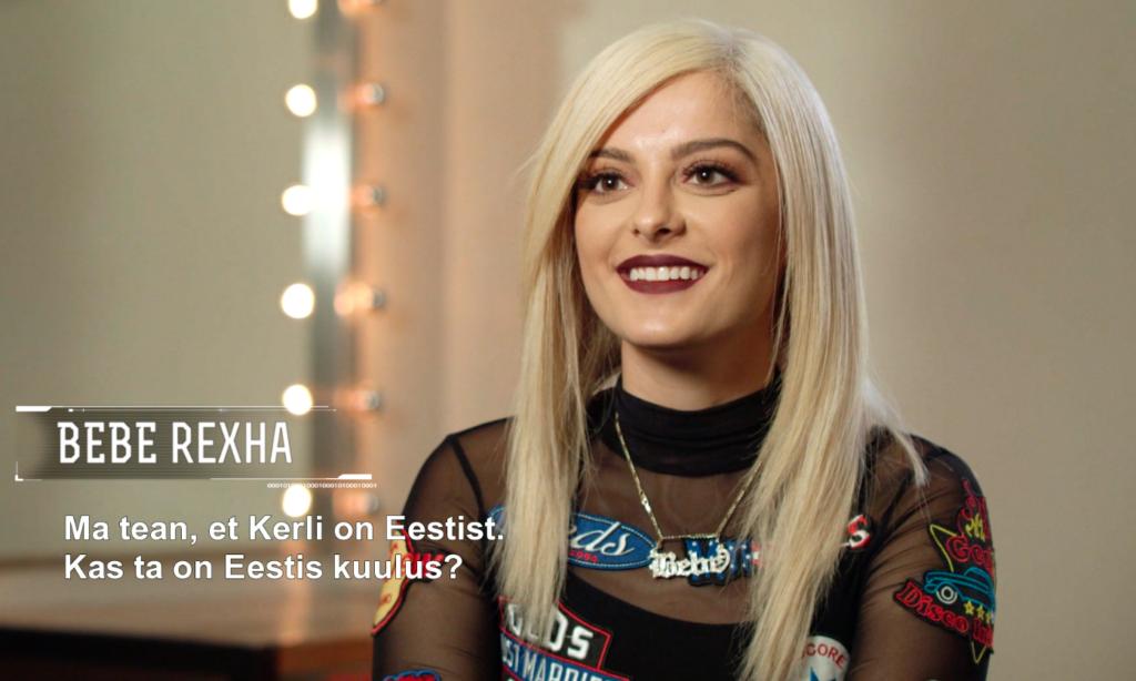 """Võimas! Popstaar Bebe Rexha räägib Kerlist: """"Ta on cool!"""""""