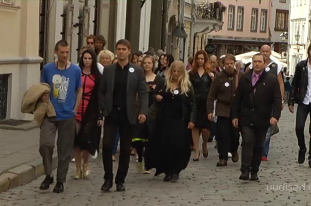 """""""Eesti selgeltnägijate tuleproov"""" esimesele võttepäevale saabus soovijaid erakordselt palju"""