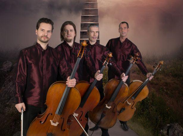 Täna Viimsis! Tšellokvartett C-Jam suvetuur algab täna