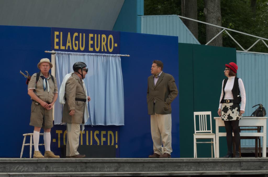 TÄNA PÄRNUS, HOMME TARTUS! Eesti näitlejate paremiku toel harutatakse lahti eurotoetuste absurdilugu