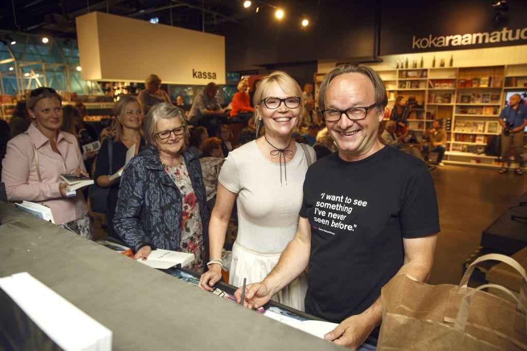 """FOTOD! Tiit Pruuli esitles """"Minu maailm"""" sarja 100. raamatut """"Minu maailm. Romantiku(te) heitlused"""""""