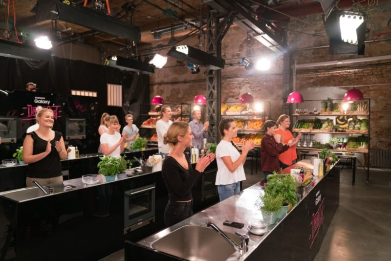 Tänasest näeb uut noorte kokasaadet Samsung Galaxy Dream Chef