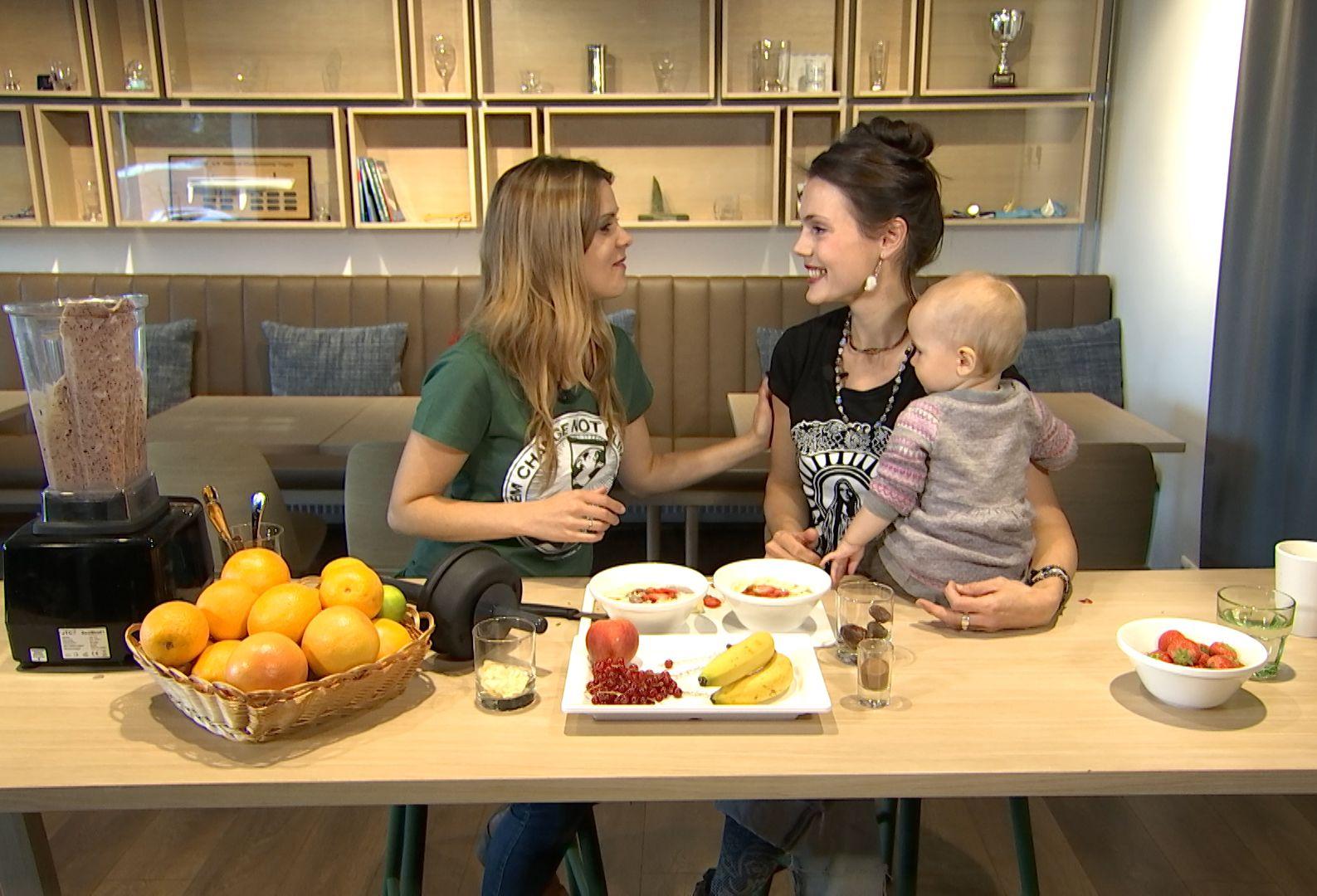"""Eesti esimeses vegan saates """"Ela hästi"""" osaleb ka Simona ja Jään Tätte pisitütar"""