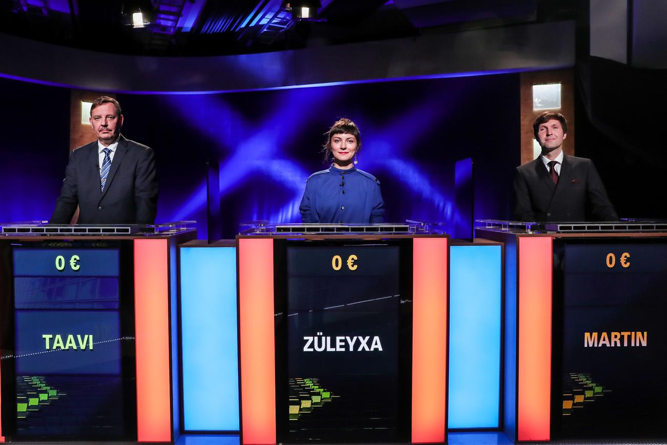 """""""Kuldvillaku"""" uue hooaja avasaates lähevad vastamisi Tallinna linnapeakandidaadid"""