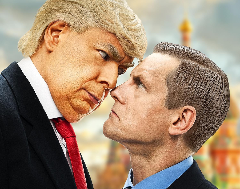 """VIDEO! Jan Uuspõld ja Peeter Oja toovad lavale komöödiaetenduse """"Tramp ja Puutin"""""""