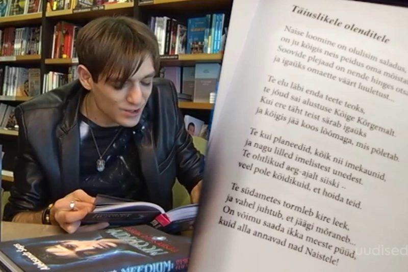 Video! Aleksandr Šeps esitab naisi ülistava luuletuse