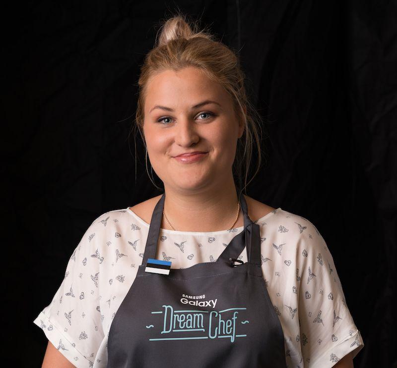 """Baltikumi """"Samsung Galaxy Dream Chef"""" kokandusvõistluse võitis eestlanna Helene Pihl"""