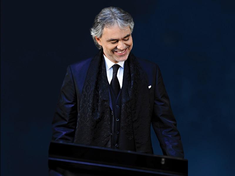 "VIDEO! Tänaon Coca-Cola Plaza kavas kontsertfilm ""Andrea Bocelli: A Legend of Beauty"""
