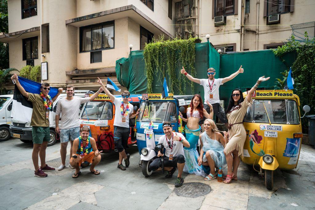 """Täna algab uus reisisari """"India Xpress: pöörane seiklus tuk-tukkidega"""""""