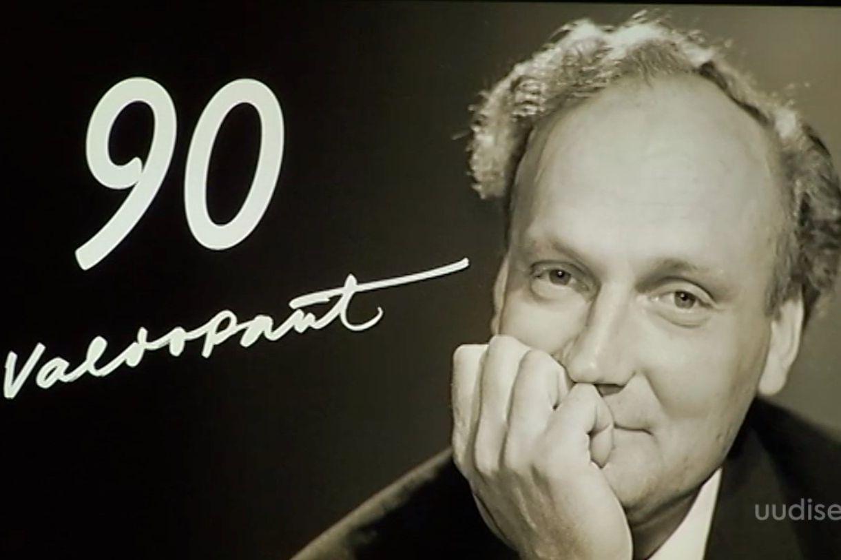 Video! Sõbrad ja kolleegid tähistasid legendaarse telesaatejuhi Valdo Pandi 90. sünniaastapäeva