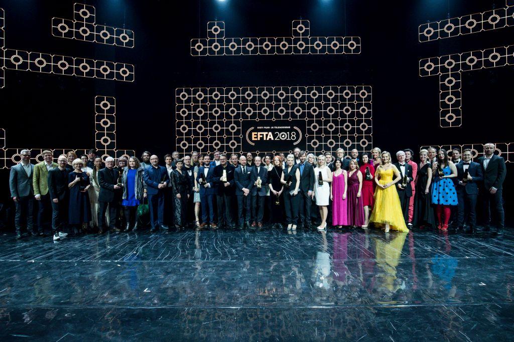 HIIGELGALERII! Eile jagati Eesti filmi- ja teleauhindu