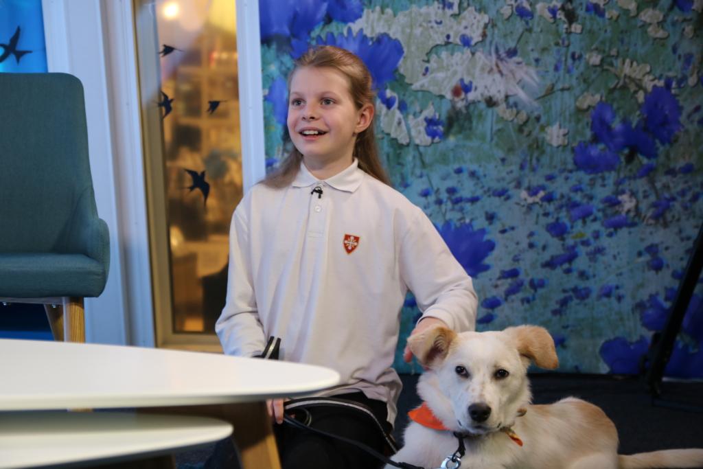 VIDEO! Eeskuju! 11-aastane Eva-Lotta: hakkan loomaarstiks ja kliiniku nimigi on välja mõeldud