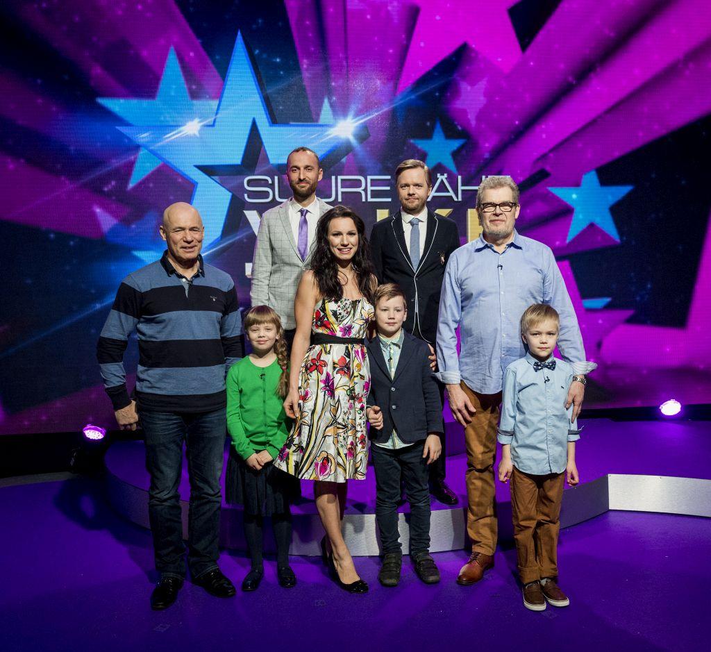 """""""Suure tähe väike täht"""" tänases saates Mait Maltis, Kalev Vapperi ja Silvia Ilves"""