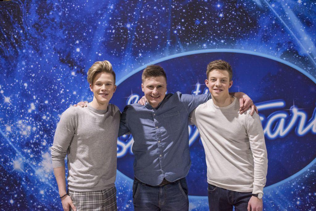 """GALERII! """"Eesti otsib superstaari"""" poiste stuudiovoorust pääsesid finaali Uudo, Jaagup ja Carlos"""