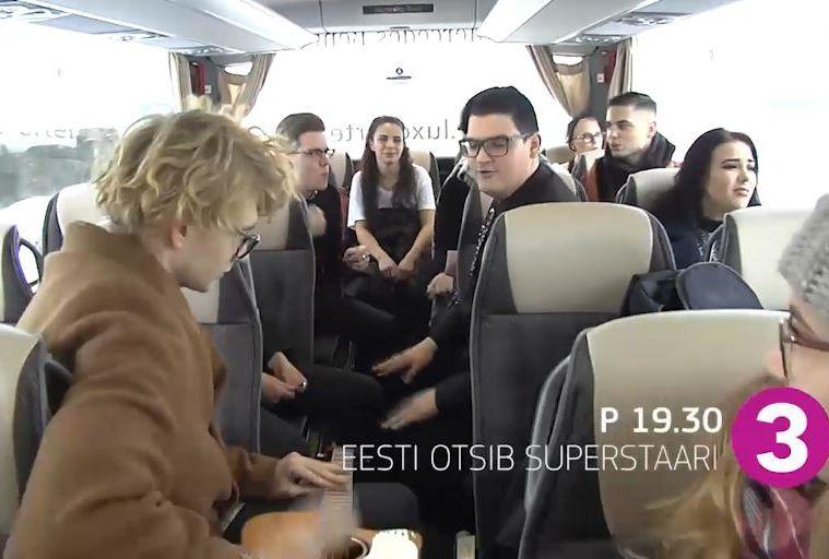 VIDEO! Vaata, mis laulu improviseerisid superstaarid bussisõidul