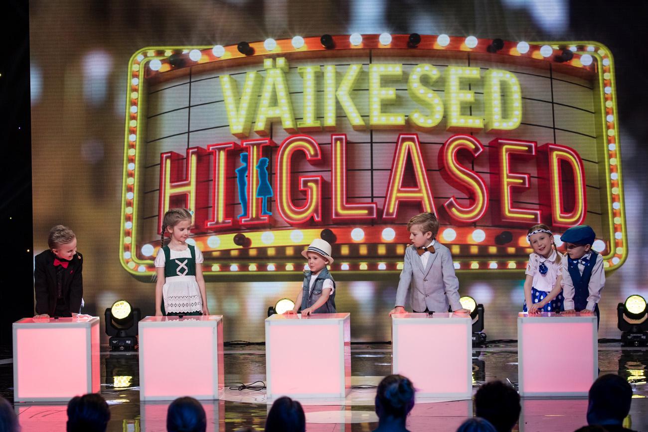 """Tänases """"Väikeste hiiglaste"""" telešõus mängivad minitalendid sõnaseletusmängu"""
